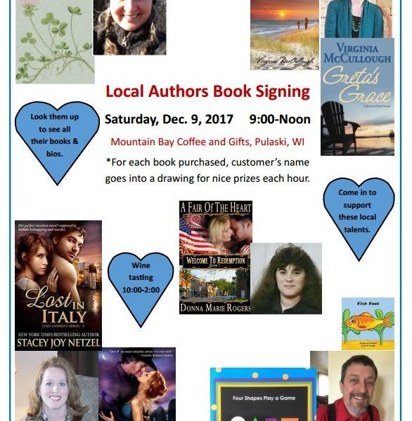 Local Authors to Sign Books in Pulaski